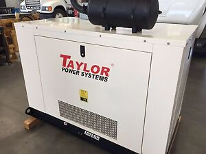 Taylor Power Systems Tg30 30kw Lp Or Natural Gas Generator