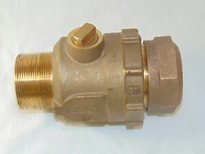 2 Brass Ball Valve 2 Compression X 2 Male Threaded Valve