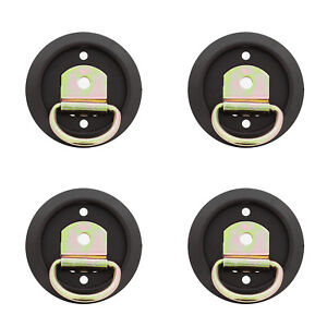 Abn Tie Down D Ring Mounting Rings 1200 Lbs With Flush Mount 4 Pack