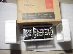 Nos Staco 3 Gang Unit Type 10812 120 Volt 6 Amp 350 To 1200 Cyc General Radio