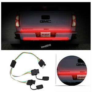 Bonded Wiring Connector For Tailgate Light Bar 4 Way Flat Vehicle