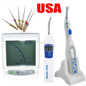 Dental Apex Locator Root Canal Endo Motor Treatment Contra Angle Pulp Tester Fda