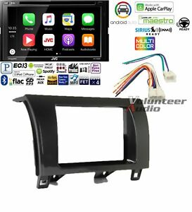 Jvc Kw V830bt Car Stereo Dash Install Kit Apple Carplay Android Auto Bluetooth