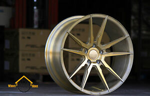 20 Wheels For Mustang V6 Gt Gt500 Kronos Kw5 Staggered Concave Rim Set