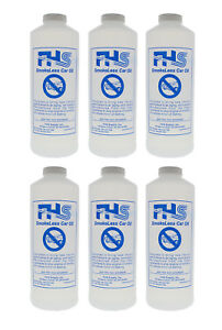 Fhs Smokeless Car Oil High Performance Blend For Worn Engines 1 Qt 6 Pack