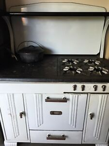 Antique Pilgrim Kalamazoo Wood Coal Gas Stove