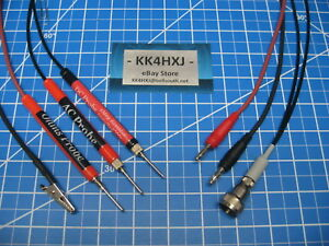 Custom Vtvm Probe Set Assembled For Rca Voltohmyst Wv97a Revised Set