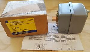 Square D Water Pump Pressure Switch 9013gsg2j21p 30psi On 50psi Off Nos
