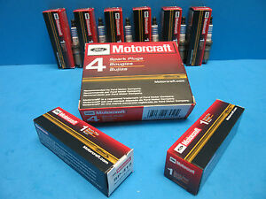 Set 6 Oem Ford Spark Plugs Motorcraft Sp504 Agsf34fm Finewire Platinum 4 2l V6