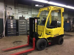 2008 Hyster 3000 Pound Pneumatic Forklift