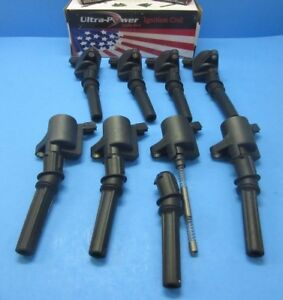 Set 8 Ignition Coils Replace Ford Motorcraft Oem Dg508 Mercury Lincoln V8