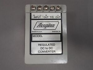 Acopian 28eb15d50 Regulated Dc To Dc Converter Used