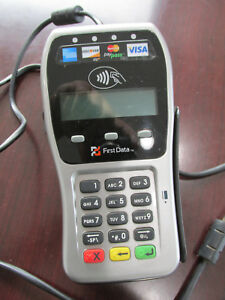 First Data Fd 35 Emv Ready Pin Pad Applepay Nfc Chip Card Compatible Fd35 stand
