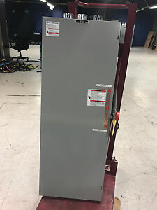 Used Cutler Hammer Double Throw Safety Switch Dt3624fgk 200 Amp 600 Volts