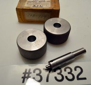 Edmunds Air Gage Spindle And Rings inv 37332