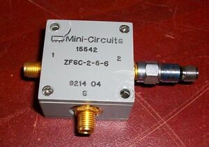 Mini Circuits Zfsc 2 5 6 Power Splitter combiner Coaxial W Hp Attenuator