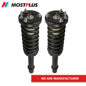 Set 2 Front Complete Strut Assembly Coil Spring For 2003 2007 Honda Accord
