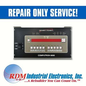 repair Only Henny Penny Computron 8000 Control Panel