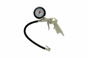Abn Air Compressor Tire Inflator Pressure Gun Chuck Psi Bar Flexible Hose