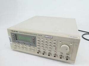 Wavetek 395 Synthesized Arbitrary Waveform Generator 100 Mhz W option 001