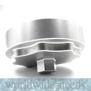 Aluminum Silver 10 16 6 7l Billet Fuel Filter Housing Cap