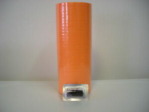 Fl Orange Labels For Monarch 1110 1 Line Label Gun Case 15 Sleeves