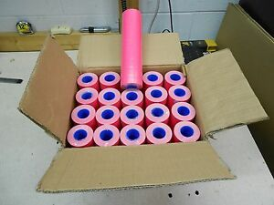1 Case Of Pink Labels For Motex 5500 200 Rolls