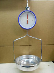 New Hanging Produce Scale Double side Dial Up To 22 Lbs