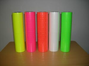 1 Case Of Mixed Color Labels For Motex 5500 1 000 X 200 Rolls