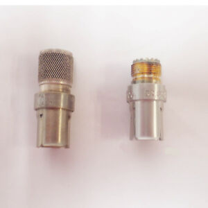 Lot Of 2 General Radio Gr874 To Type Pl259 50 Ohm Adapter 874 quj