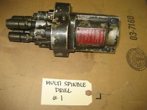 Dumore Multi Spindle Drill For Dumore Drill Unit Series 24 26 28