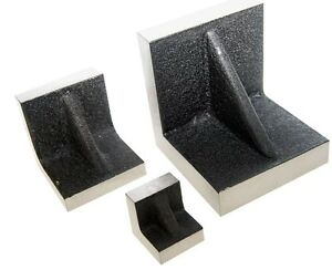 Solid Angle Plates 3 X 3 X 3 Inch With Precision Ground Sides End