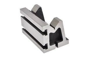 V angle Plates t slotted 3 X 3 X 5 also With Vee Groove On The Top