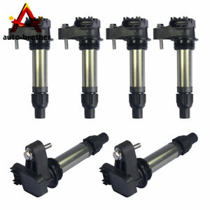 6 Pcs Ignition Coil Set For Buick Chevy Camaro Cadillac Ats Cts Srx 2008 2013