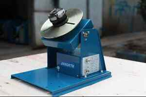 By 10 Rotary Welding Positioner Turntable Mini 2 5 3 Jaw Lathe Chuck M
