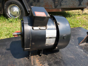 Factory 5 Hp 3 Phase Delta Unisaw Motor With Factory Delta Mag Starter