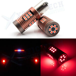 2x 30 Smd Red 1156 P21w 7506 Led Bulbs For Euro Car Backup Reverse Tail Lights
