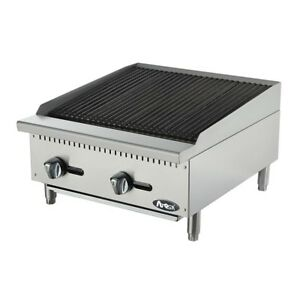 Atosa Cookrite Atrc 24 24 inch Heavy Duty Radiant Broiler
