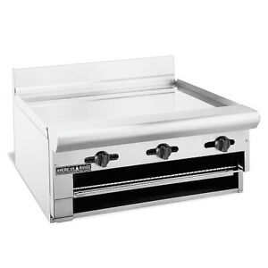 American Range Argb 48 Gas 48 Inch Griddle Overfire Broiler Countertop