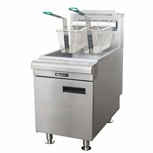 Adcraft Bdctf 75 ng 75k Btu Gas Countertop Fryer