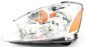 For 2002 2003 2004 Nissan Altima Headlight Headlamp Driver Side
