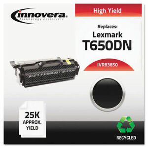 Innovera Remanufactured T650h21a t650 Toner Black 83650 New