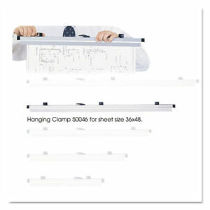 Safco Sheet File Hanging Clamps 100 Sheets Per Clamp 36 6 carton 50046 New