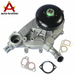 Water Pump With Gasket Aw5087 For Gmc Chevrolet Tahoe Yukon 4 8 5 3 6 0 L Vortec