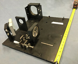 14 x16 Lab Bench Mountable Gimbal Optical Laser Mirror lens Mount fixture Optic