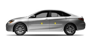 Painted Body Side Moldings W Chrome Trim Fits 2012 2017 Toyota Camry