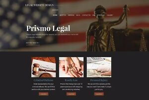 Lawyer Law Firm Website Includes Web Address Registration And Hosting