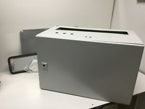 Rittal 1339500 Metallic Electrical Enclosure Cabinet 380 X 600 X 350mm holes