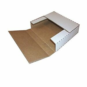 The Boxery Lp White Record Mailing Boxes 12 1 2 X 12 1 2 X 1 2 Inches Or 1 in