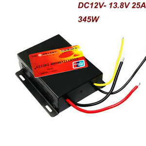 Dc12v To 13 8v 25a 345w Boost Step Up Power Supply Converter Regulator Module
